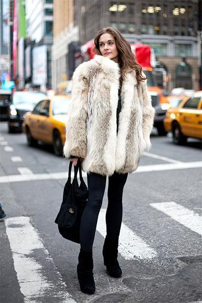 Winter Warm long Fur Coat