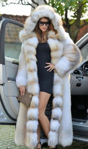Fantastic Long Fur Coat