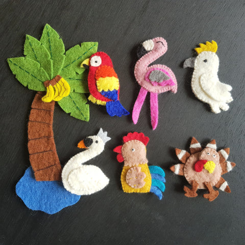 Finger Puppets - Birds