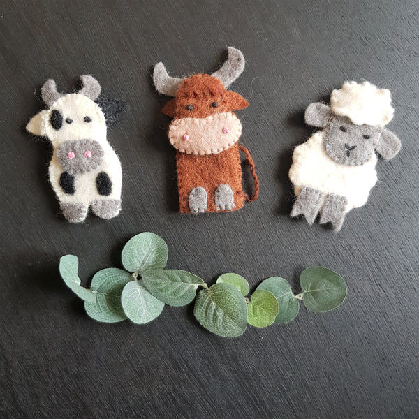 Finger Puppets - Farm Animals