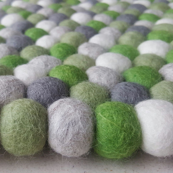 Felt Ball Rug - Savannah