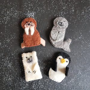 Finger Puppets - Polar Animals