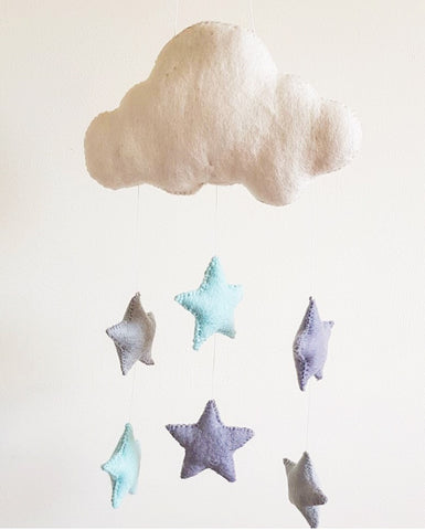 Shooting Stars Wall Hanging