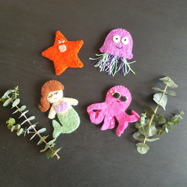 Finger Puppets - Under the Sea Creatures