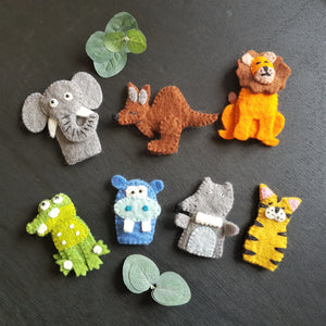 Finger Puppets - Wild Animals