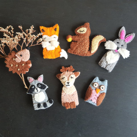 Finger Puppets - Woodland Animals