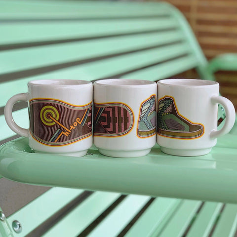 Cup Hi-Top x Flat White Mug