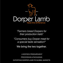Dorper Sheep Society of Australia Magazine Back page ad (August 2019)