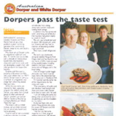 Dorpers Pass the taste test