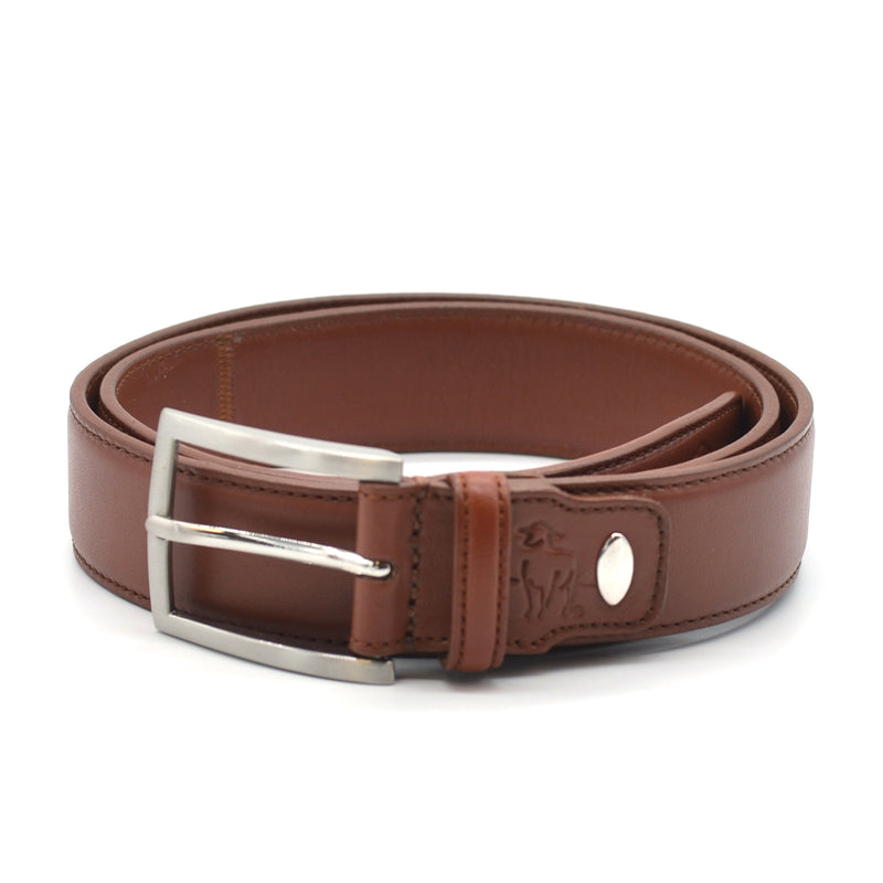 Dorper Lamb Leather Belt - Chestnut