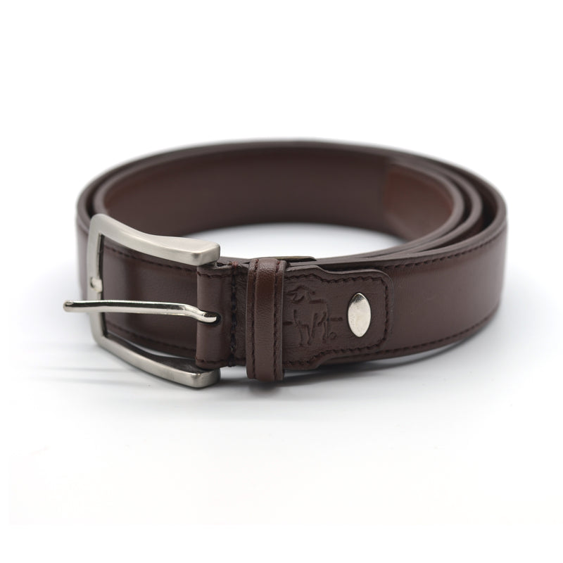 Dorper Lamb Leather Belt - Brown