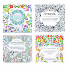 Load image into Gallery viewer, 4 pcs  24 Pages Animal Kingdom English Edition Coloring Book for Children Adult Relieve Stress Kill Time Painting Drawing Books
