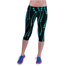Load image into Gallery viewer, High Waist Fitness Yoga Sport Pants Printed Stretch Cropped Leggings