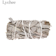 Load image into Gallery viewer, Lychee 30g/50g Sage Smudge Stick Room Purification Dried Plant Home Decoration Supplies