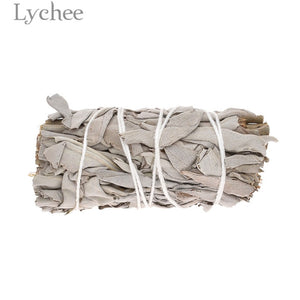 Lychee 30g/50g Sage Smudge Stick Room Purification Dried Plant Home Decoration Supplies