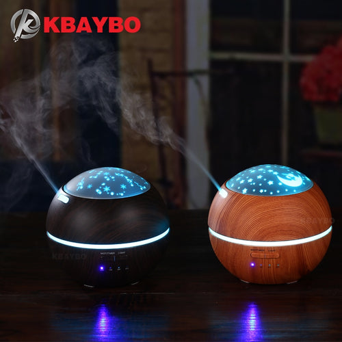 150ml Hot Sale LEDLight Ultrasonic Air Humidifier Mist Maker Fogger Electric Aroma Diffuser Essential Oil Aromatherapy Household