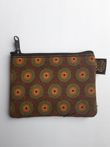 Shweshwe Coin Purse