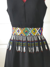 Load image into Gallery viewer, African beaded Zulu Belt