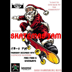 Skatemas Jam at Eastwood Skatepark with Houston Skateboards