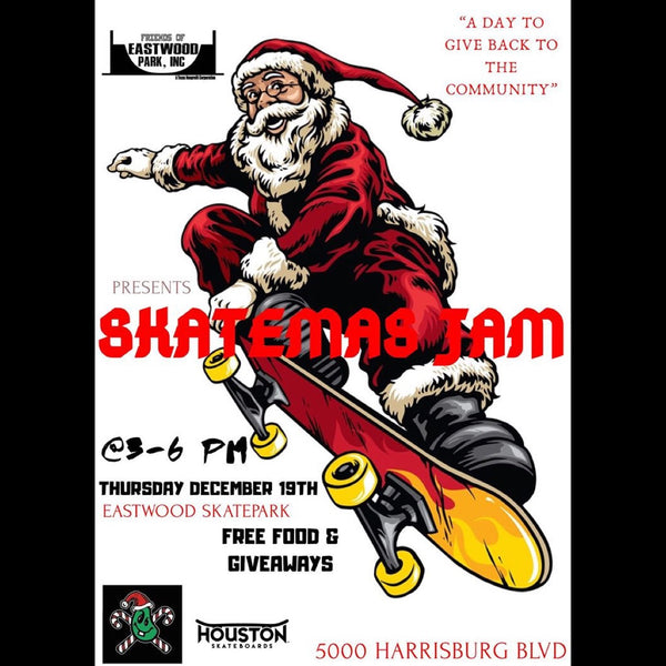 Skatemas Jam at Eastwood Skatepark