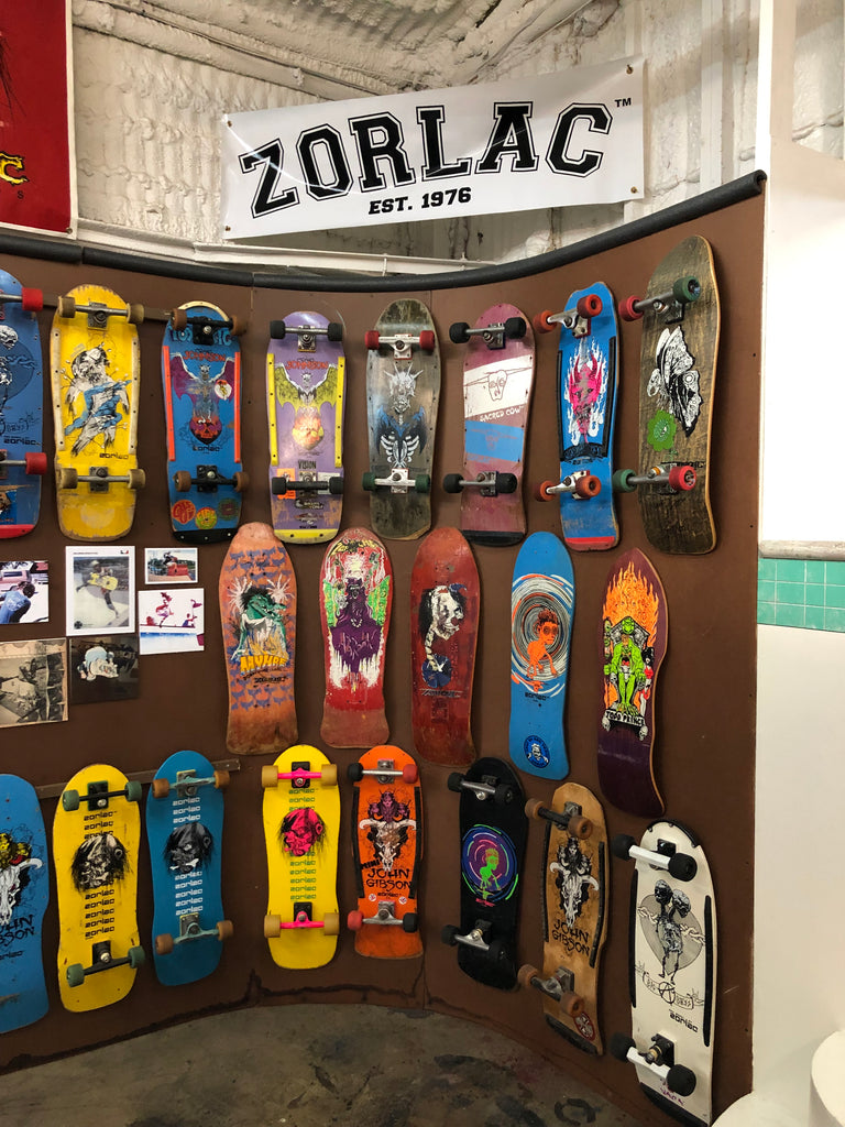 Zorlac Skateboards Texas Skateboarding Museum