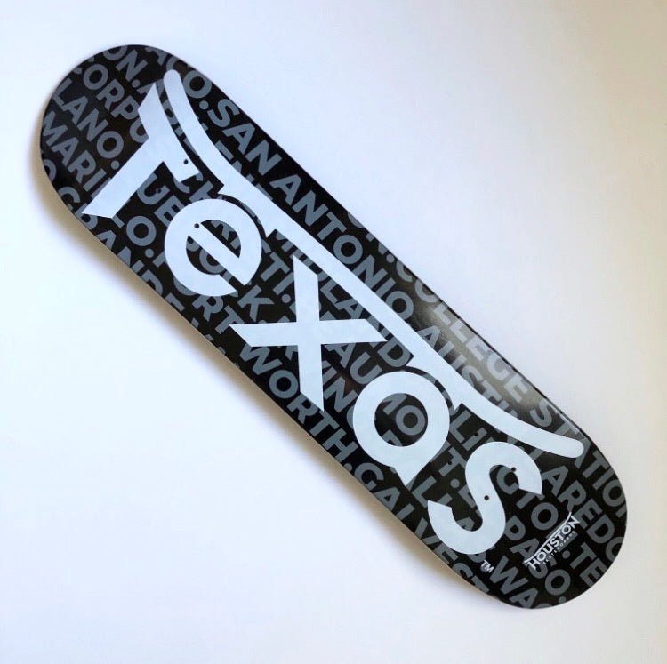 Texas Cities black deck