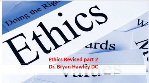 Price Slash $20 ...Ethics 1&2 Revised for 2019 3 CEs