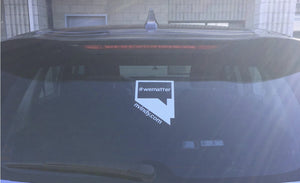 NVIndy.com #wematter window cling