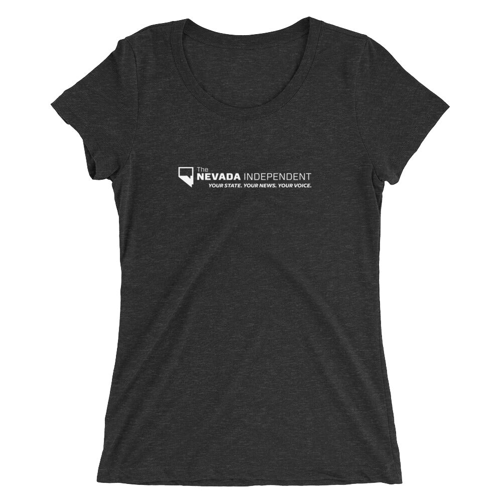 Ladies' stretch cotton t-shirt (with