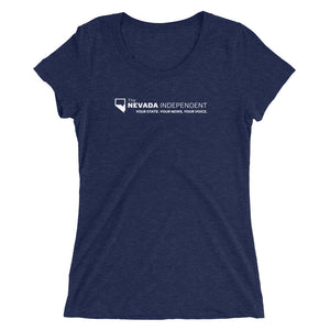 Ladies' stretch cotton t-shirt (with #WeMatter on back)