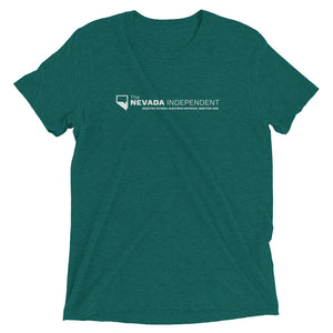 En Español - unisex stretch t-shirt (with logo on back)