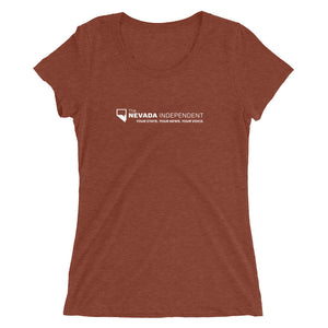 "Ladies' stretch cotton t-shirt (with ""You CAN handle the truth"" on back)"