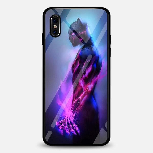 Blackpanther Black Panther A1 Supernova Fluorescent Iphone Case Bfcm Black Panther Featured Fluorescent Hotsale Phone-Case 2018 $19.99
