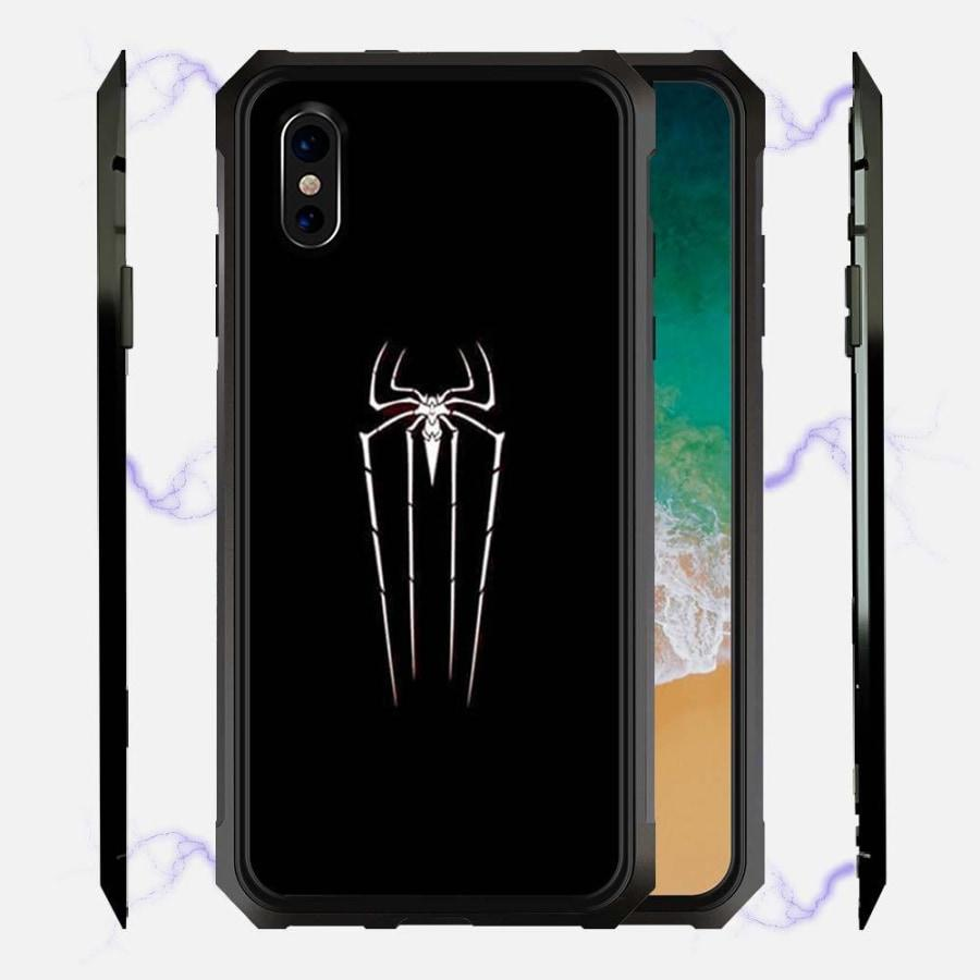 Spiderman Spider Logo Magnetic Glow Phone Case Bfcm Cell Phone Chargers & Power Hotsale Ip7G Ip7P Phone-Case 2018 $19.99
