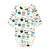1 Year Birthday Baby Boy Clothes O-neck Body Menina,Animals Vestido Infantil Newborn Boys Long Sleeve Baby Bodysuits