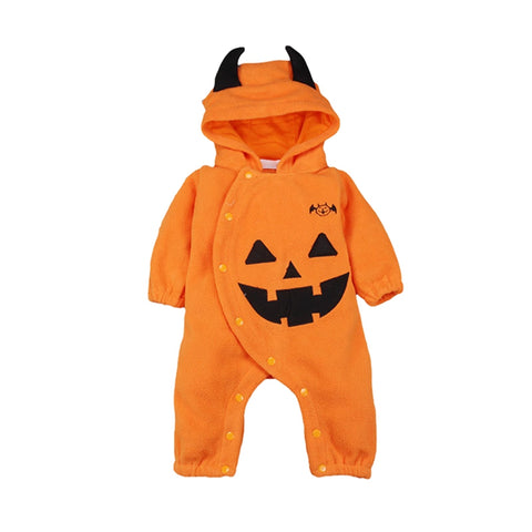 18 The New Infant Baby Boy Girl Clothes Autumn Winter Halloween Print Outfits Cotton Cute Design Bodysuits