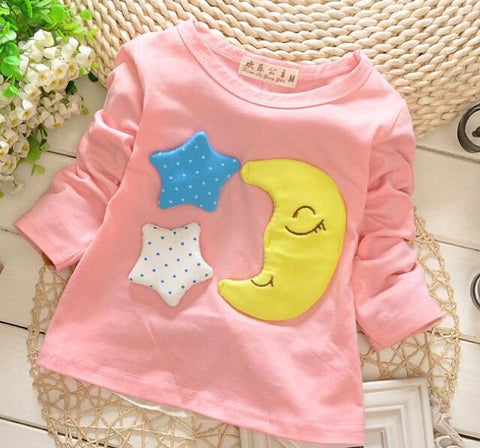 (1piece /lot) 100% cotton 2018 pink baby outerwear 0-3 year old