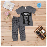 2018 New summer baby clother sets Cotton short sleeve infant clothes 2 pcs baby clothing sets baby boy clothes