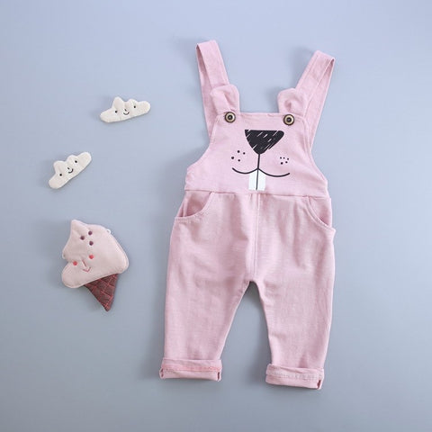 2018 new Autumn Korean version of the cartoon cotton baby pants 0-2 year baby boy pants for girls pants