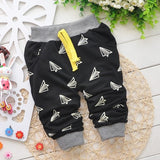 2018   Spring Hot sale 0-2 years cartoon 4 colors cotton baby pants 7-24 month baby boy pants children girls harem pants