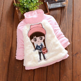 2017 Autumn Infant Costume Winter Warm Baby Girl Clothes Cute Cartoon Bowknot Vestido Infantil Newborn Hooded For Christmas Gift