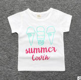 2018 baby tshirt for girl Summer children girls t shirts toddler tees kids t-shirt clothes clothing infants bebe girl tops 3-24m