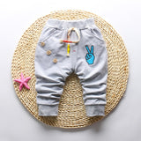 2018 spring autumn new South Korean Fashion style cotton high quality baby pants 0-2 year baby boy /girls children pants