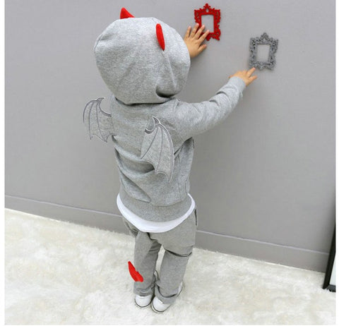 2018 Autumn Toddler Baby Kids Clothes Boys Clothes Hoodies+Pants Sport Suit For Boys Children Clothing Set Costume 2 3 5 6 Years
