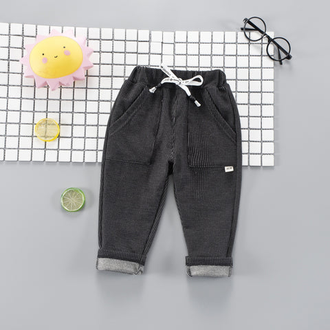 2018 Casual Pants for Children Quality Brand Newborn Baby Trousers Boys Girls Children's Infant Clothing Unisex Leisure Pants