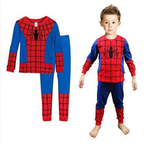 2018 Hot Children Cotton Pajamas Children S Clothing Boys Cartoon Paja Toyszoom