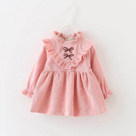 2018 New Winter Newborn Dress Infant Baby Clothes Dress For Girl Clothing Princess Party Christmas Dresses Baby Spring 4ds101