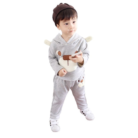 708b39acf7e32 2018 Winter Kids Clothes Boys Girls Clothing Sets Children Clothes Baby  Girls Toddler Boys Clothing Boutique Korean Coat + Pants