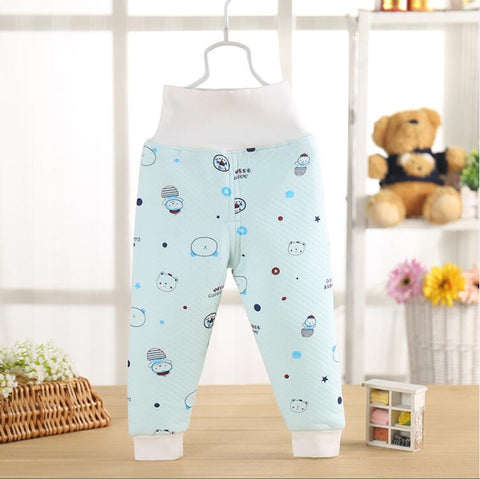 2018 new spring and winter baby pants best quality baby girl and boy pants Cotton kids leggings thickened warm baby long johns