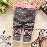 2018 new winter baby warm pants fall and winter fleece Footless new infant knit trousers size 0-2 years baby